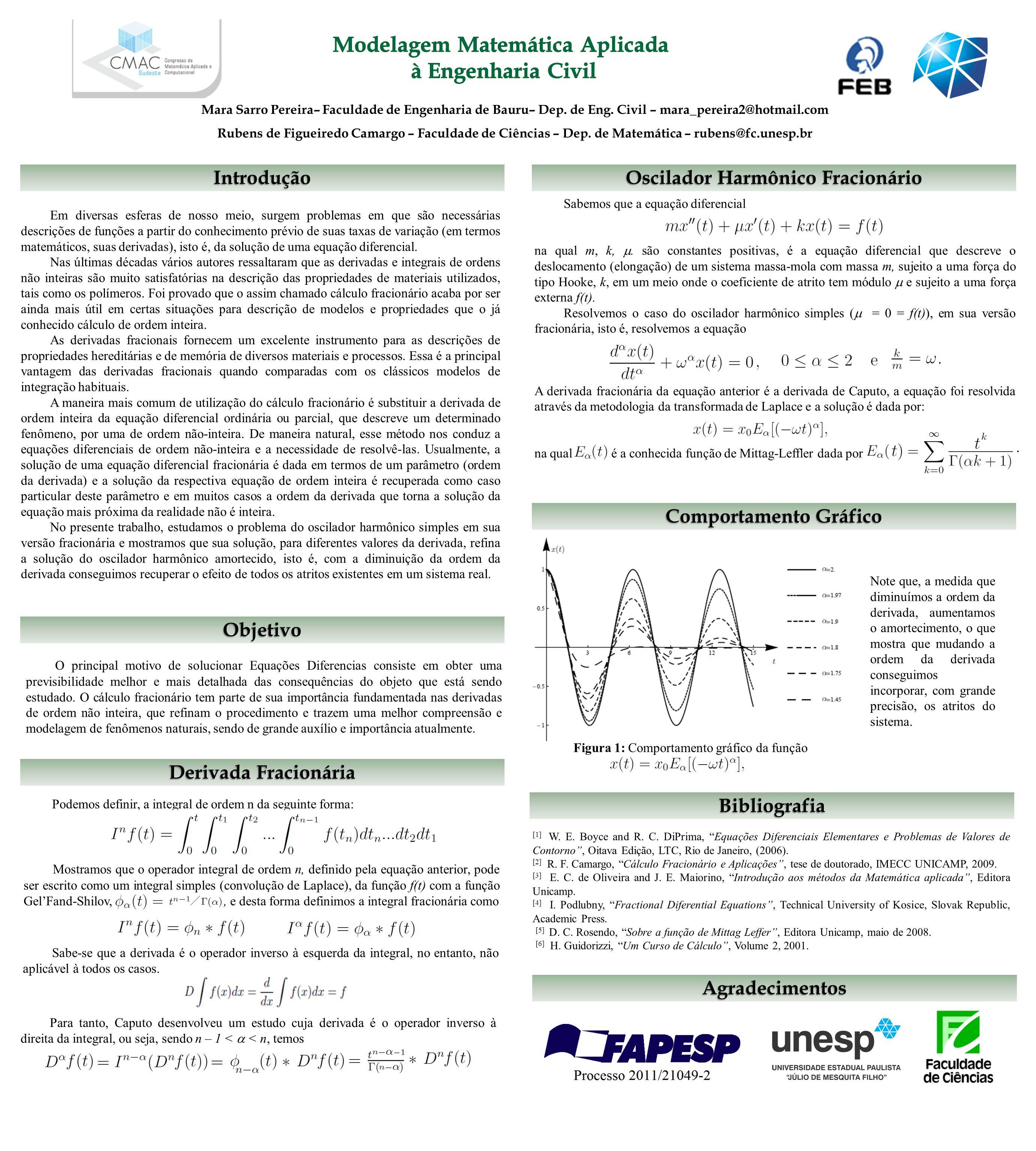 [1] W. E. Boyce and R. C. DiPrima, Equações Diferenciais Elementares e Problemas de Valores de Contorno, Oitava Edição, LTC, Rio de Janeiro, (2006). [