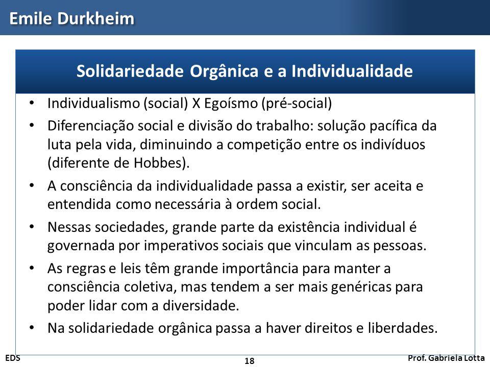 Prof. Gabriela LottaEDS