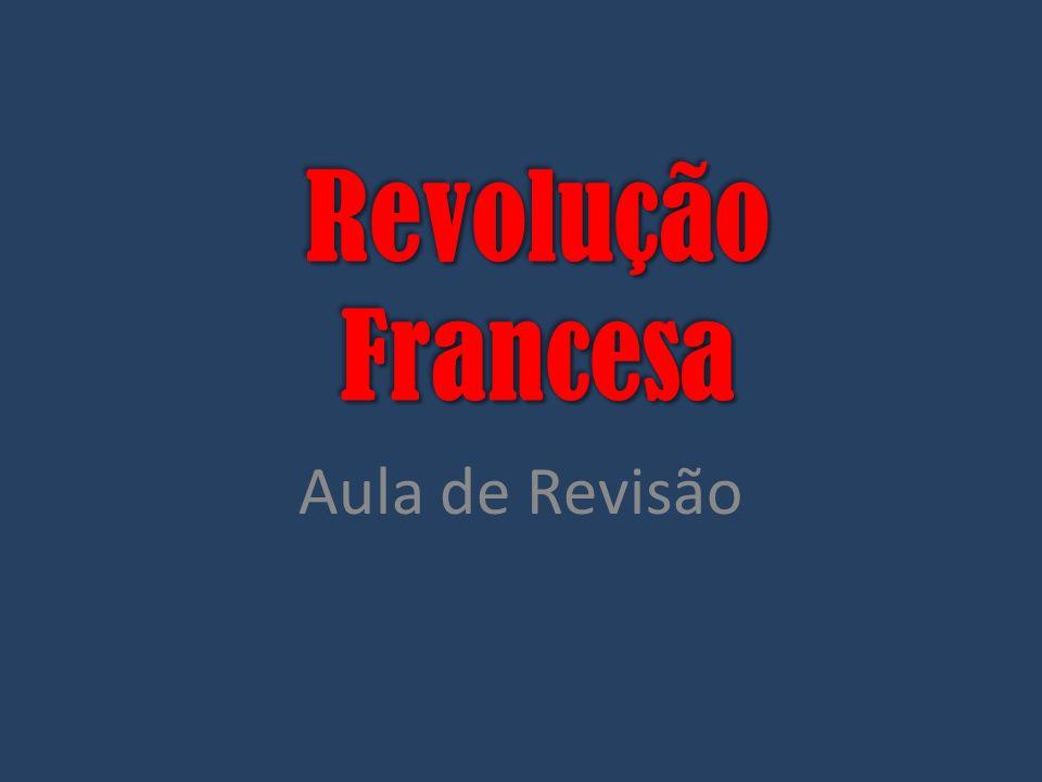 Revolução Francesa Aula de Revisão