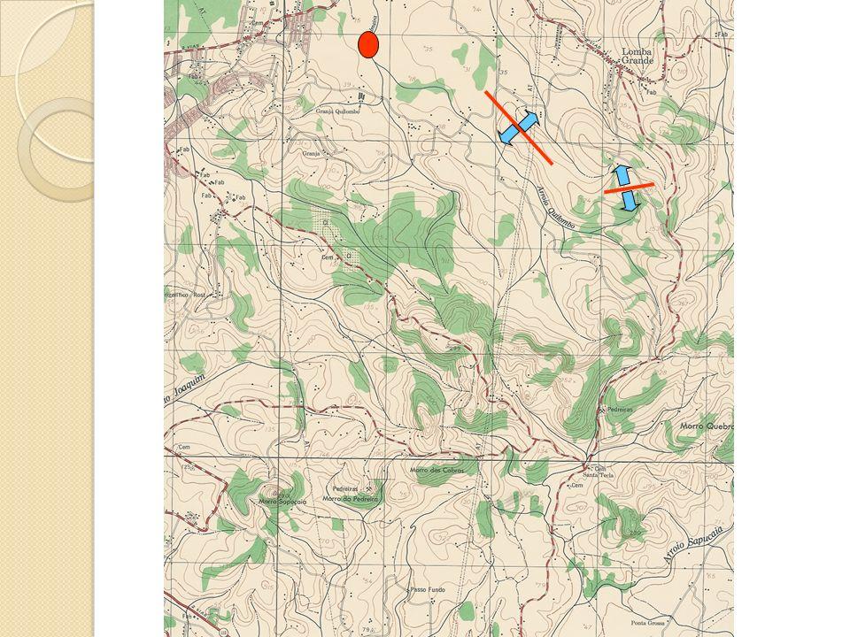 Área da bacia hidrográfica Característica mais importante da bacia Reflete o volume total de água que pode ser gerado potencialmente na bacia