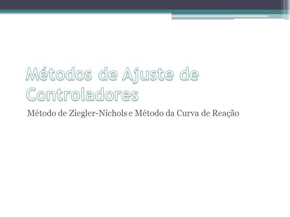 Método de Ziegler-Nichols e Método da Curva de Reação