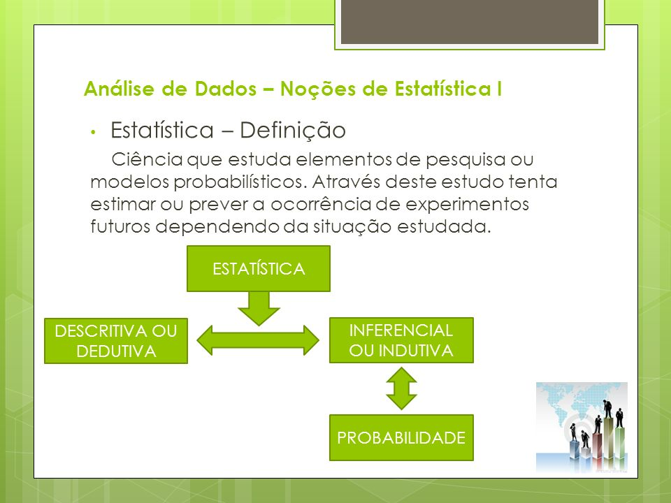 Análise de Dados – Noções de Estatística I CONCEITOS BÁSICOS Exercício 3 – Pág.