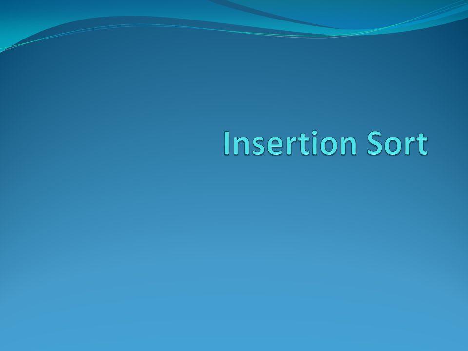 Eficiência do Insertion sort