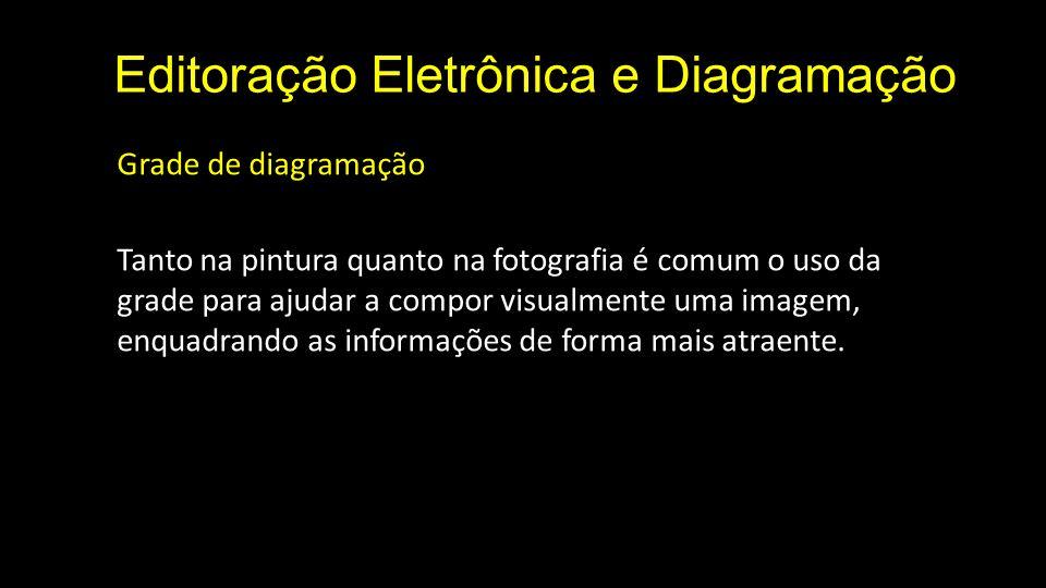 Editoração Eletrônica e Diagramação Grade de diagramação » tipos de grade Retangular: Versão mais simples que acomoda um longo texto corrido, como um livro.