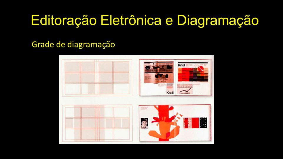 Editoração Eletrônica e Diagramação Grade de diagramação