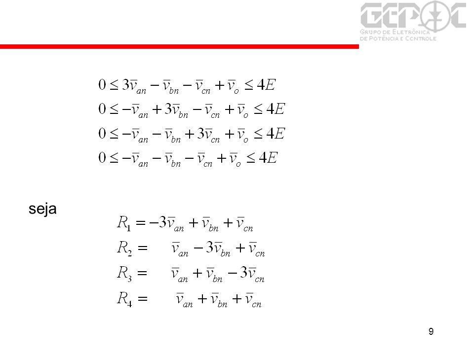 30 Transformação de Coordenadas Se L n >0 e/ou R n >0