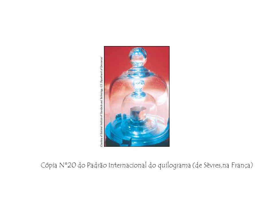 Cópia N°20 do Padrão Internacional do quilograma (de Sèvres,na França)
