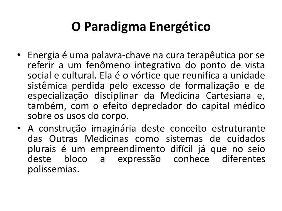 O Paradigma Energético Energia é uma palavra-chave na cura terapêutica por se referir a um fenômeno integrativo do ponto de vista social e cultural.