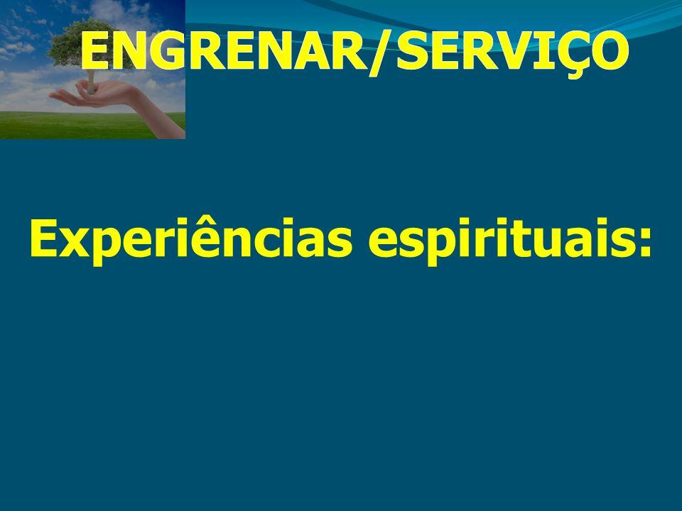 Experiências espirituais: