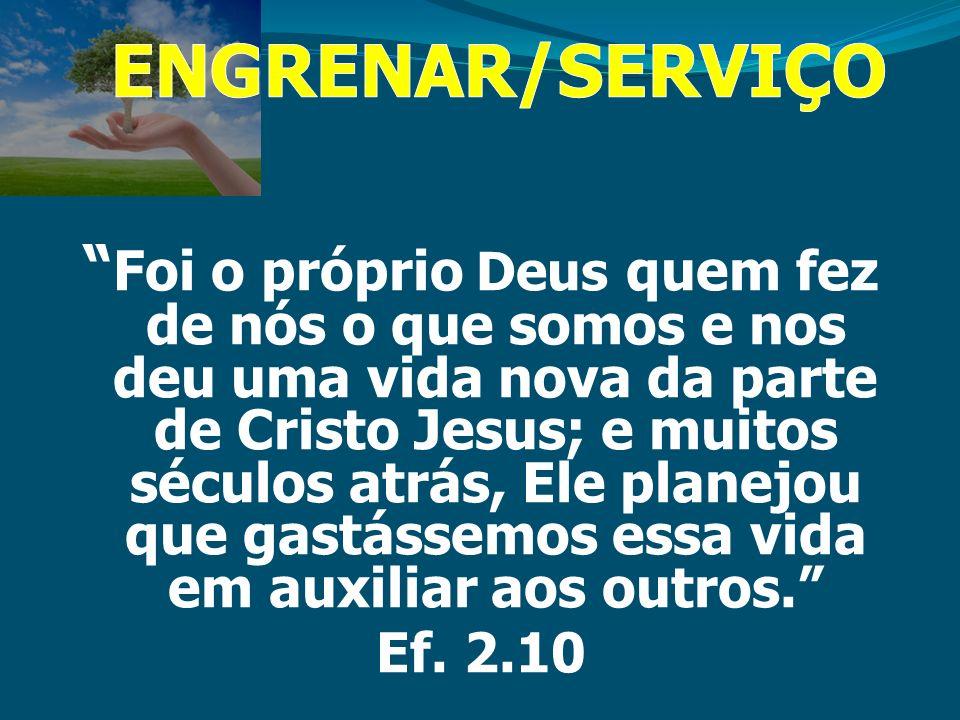 Você é da forma que é porque foi feito para um ministério específico