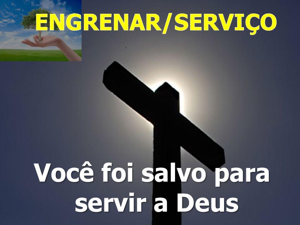 As cinco marcas do servo de Deus O servo tem uma só prioridade