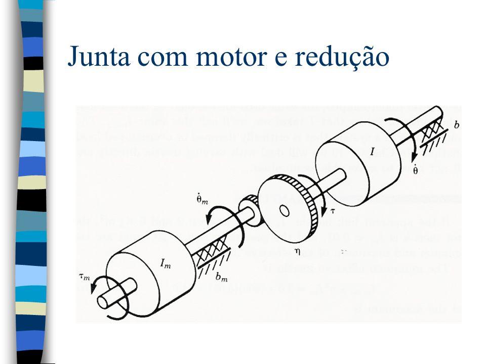 Junta com motor e redução