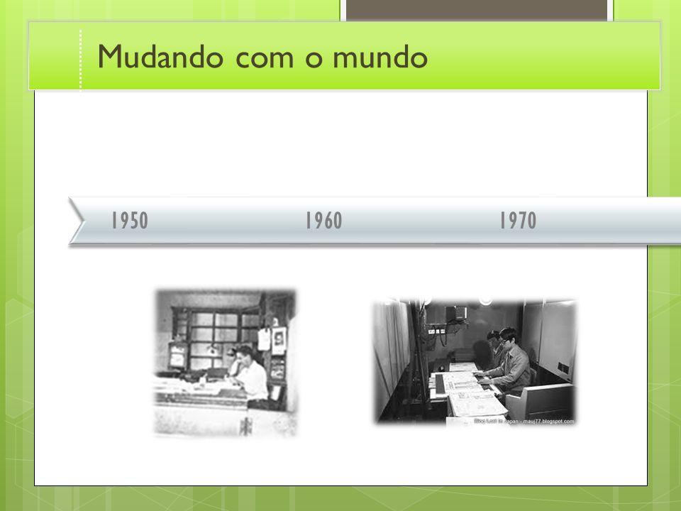 196019701950 Mudando com o mundo