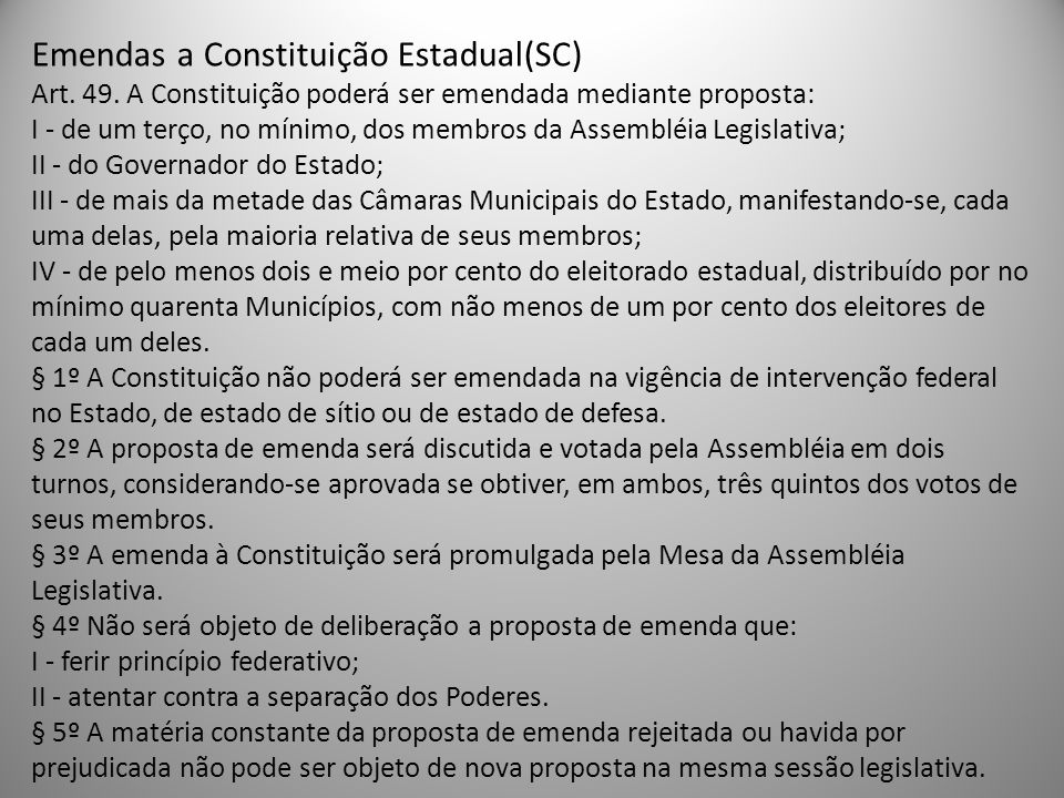 PROCESSO LEGISLATIVO Art.59.