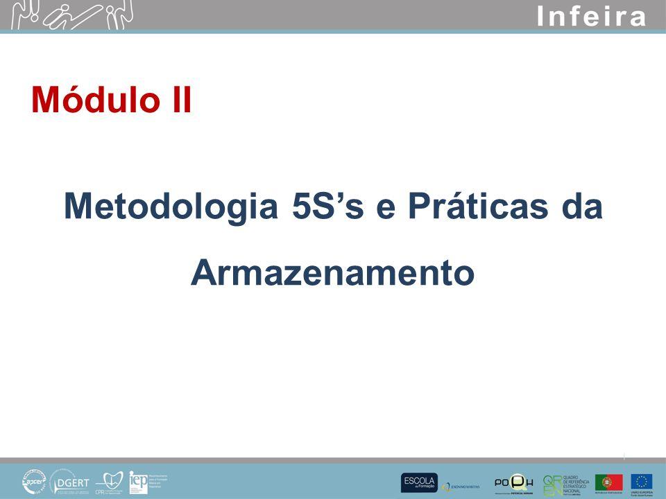 Módulo II Metodologia 5Ss e Práticas da Armazenamento