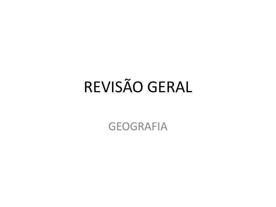REVISÃO GERAL GEOGRAFIA