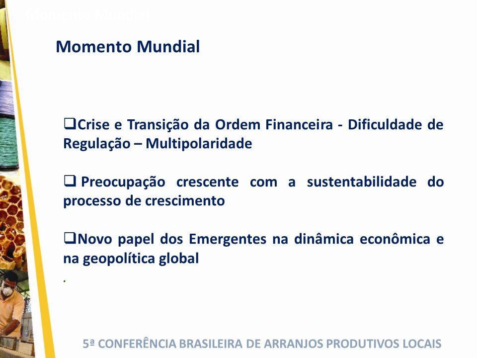 5ª CONFERÊNCIA BRASILEIRA DE ARRANJOS PRODUTIVOS LOCAIS.