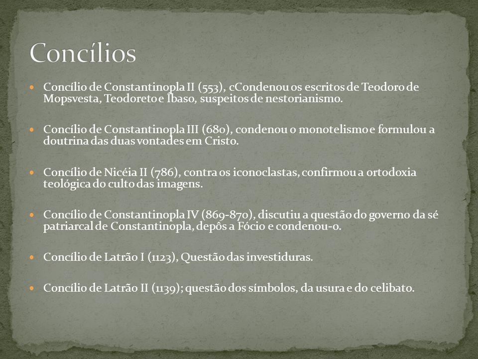 Concílio de Latrão III (1179) condenou os cátaros.