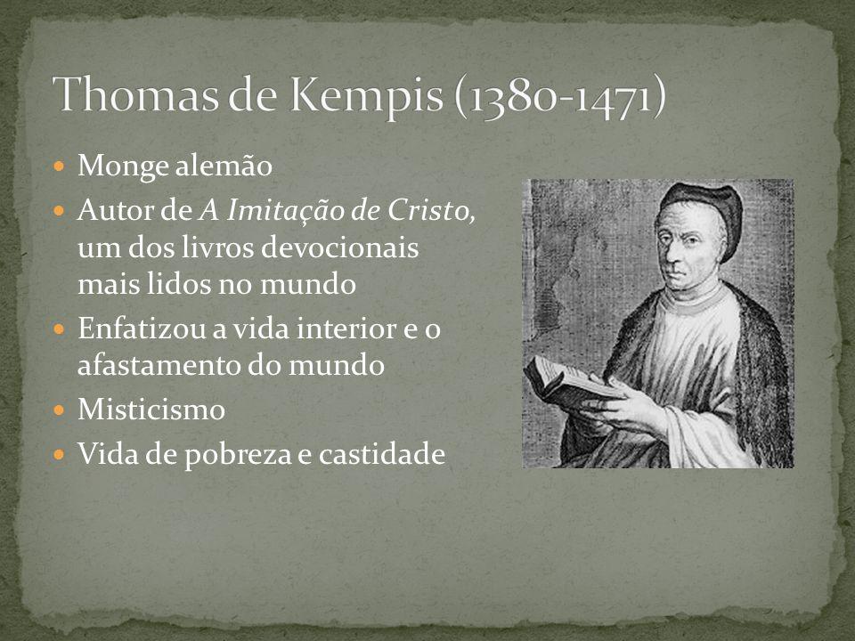 Precursor da Reforma Trabalhou na primeira tradução da Bíblia para o inglês Condenou as riquezas da igreja Sustentou que a igreja deveria renunciar ao poder temporal Combateu as ordens monásticas Defendeu o Sola Scriptura