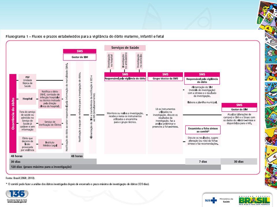 Cobertura do Sistema de Mortalidade - SIM Estudo realizado em 2010 (Figueiroa et al, 2013) em município de grande porte da região NE do Brasil identificou 94,8% de cobertura e observou a importante contribuição dos cartórios para o conhecimento dos óbitos (não fetais) ausentes no SIM.