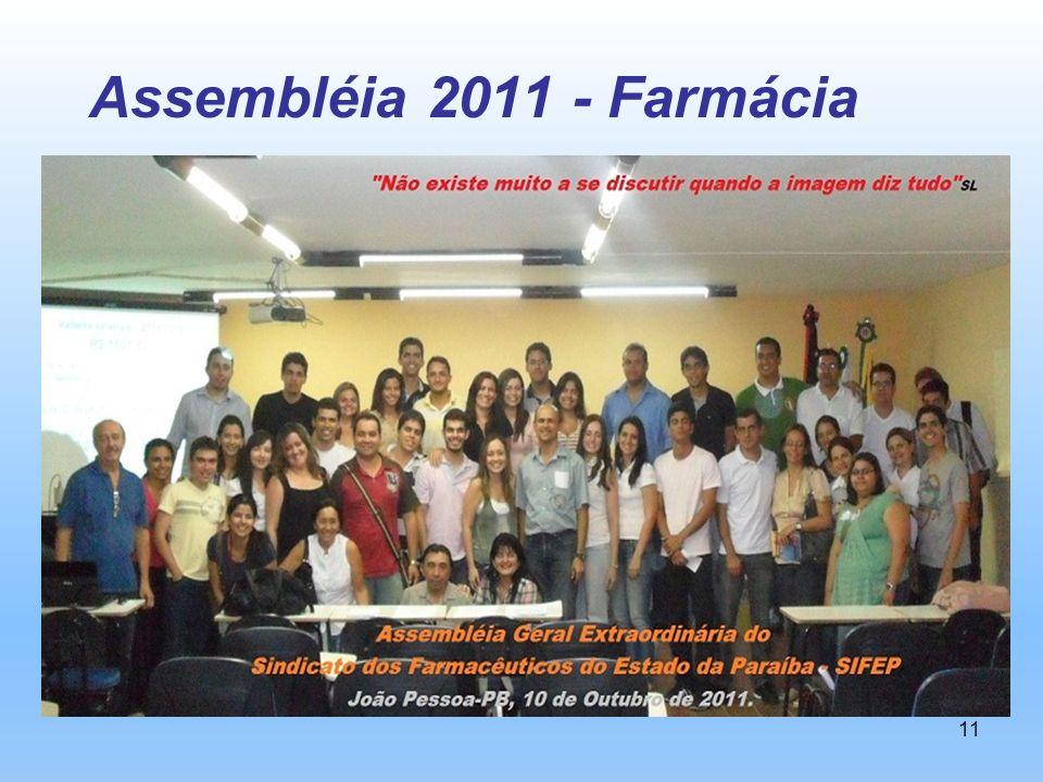 11 Assembléia 2011 - Farmácia