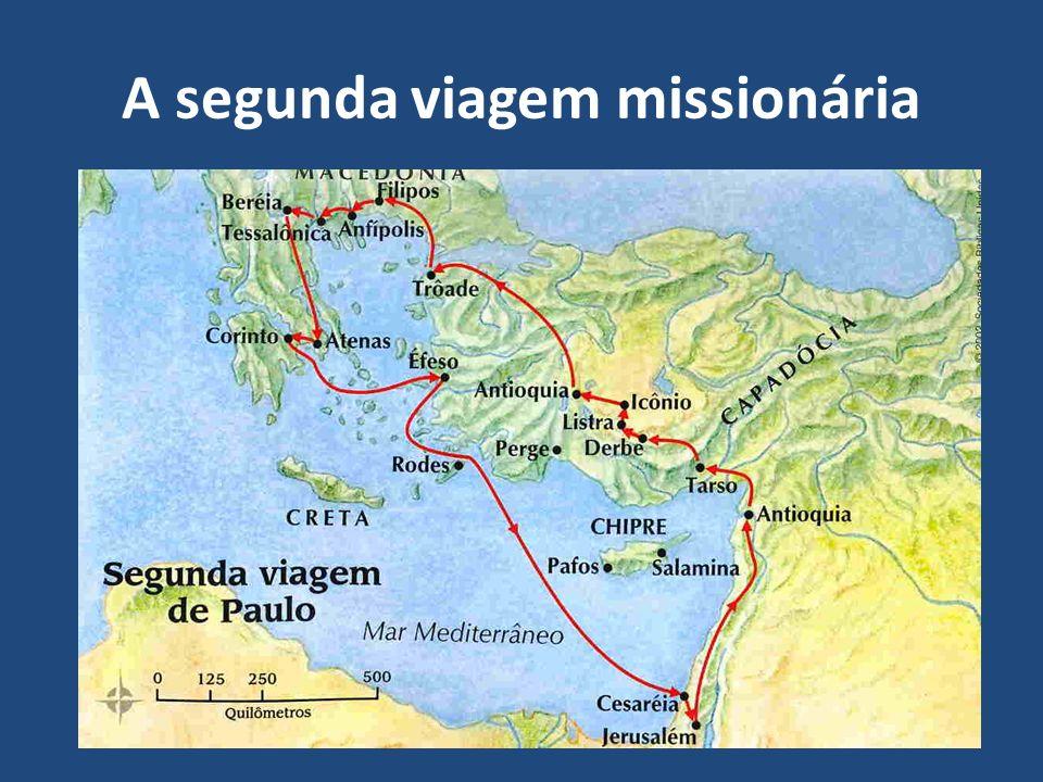 O avanço do Evangelho produz confronto com a religião: O apóstolo Paulo continua sua viagem missionária pregando e ensinando sobre o Evangelho de Cristo.