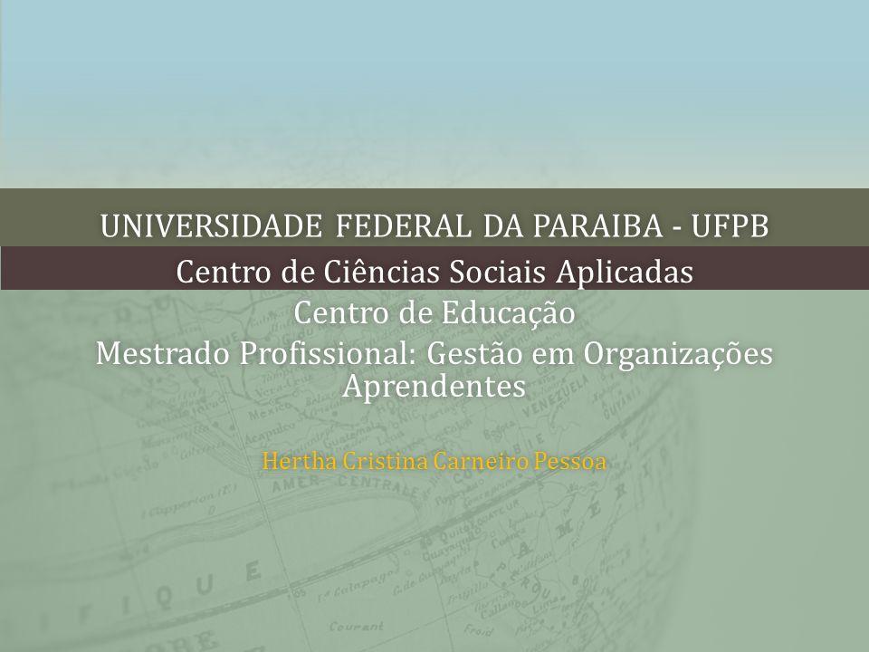 UNIVERSIDADE FEDERAL DA PARAIBA - UFPBUNIVERSIDADE FEDERAL DA PARAIBA - UFPB Centro de Ciências Sociais AplicadasCentro de Ciências Sociais Aplicadas