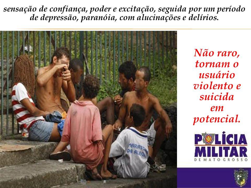 Hoje, escravos de drogas muito mais devastadoras: o crack e o oxi. Crack/Oxi: subprodutos da cocaína são cinco vezes mais potentes que a cocaína