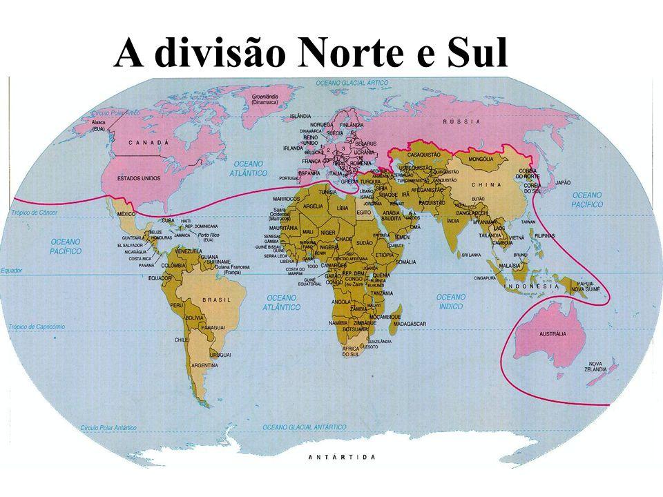 A divisão Norte e Sul