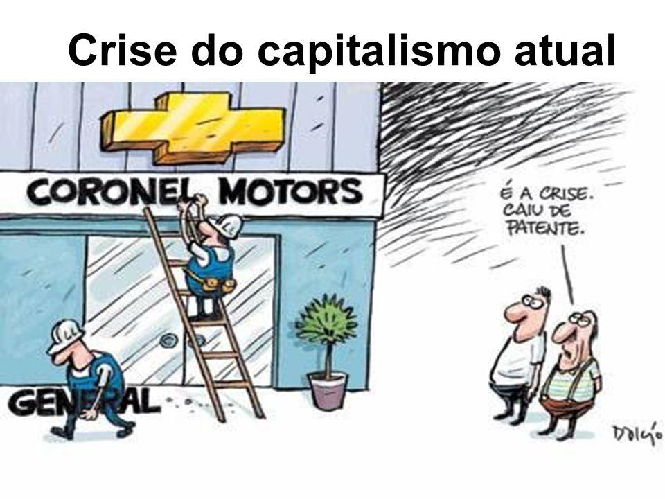 Crise do capitalismo atual