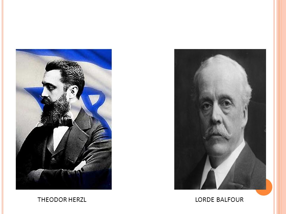 THEODOR HERZL LORDE BALFOUR