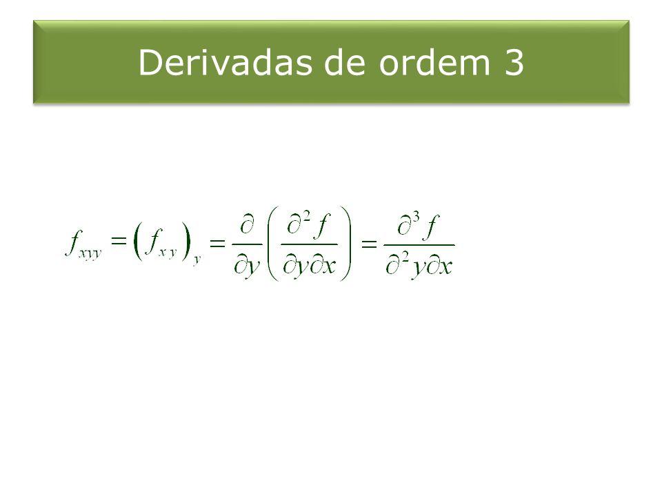 Derivadas de ordem 3