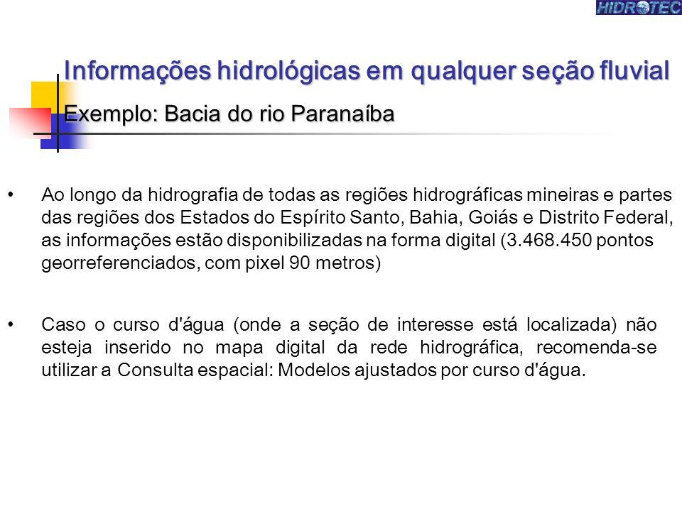 Ao longo da hidrografia de todas as regiões hidrográficas mineiras e partes das regiões dos Estados do Espírito Santo, Bahia, Goiás e Distrito Federal