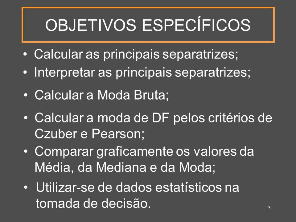 34 5 - Comparação entre Mo, Md e Simétrica Mo = Md = Assimétrica Negativa Mo > Md > Assimétrica Positiva Mo < Md <