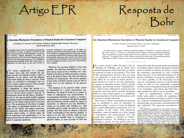 Artigo EPR Resposta de Bohr