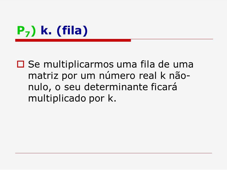 P 7 ) k.
