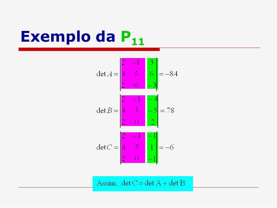 Exemplo da P 11
