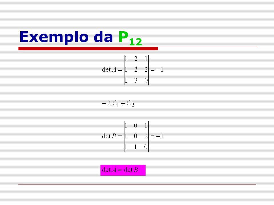 Exemplo da P 12