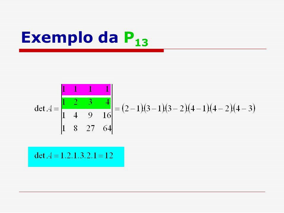 Exemplo da P 13