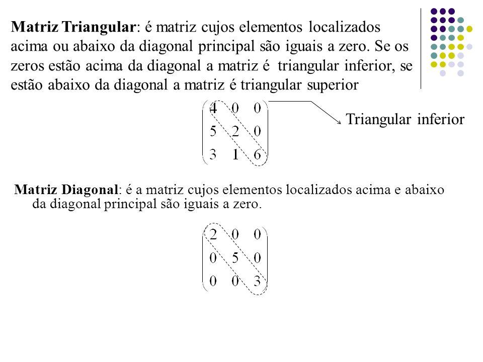Matrizes em blocos (particionadas) Uma matriz pode ser subdividida em blocos ou particionada em matrizes menores inserindo cortes horizontais e verticais entre linhas e colunas.