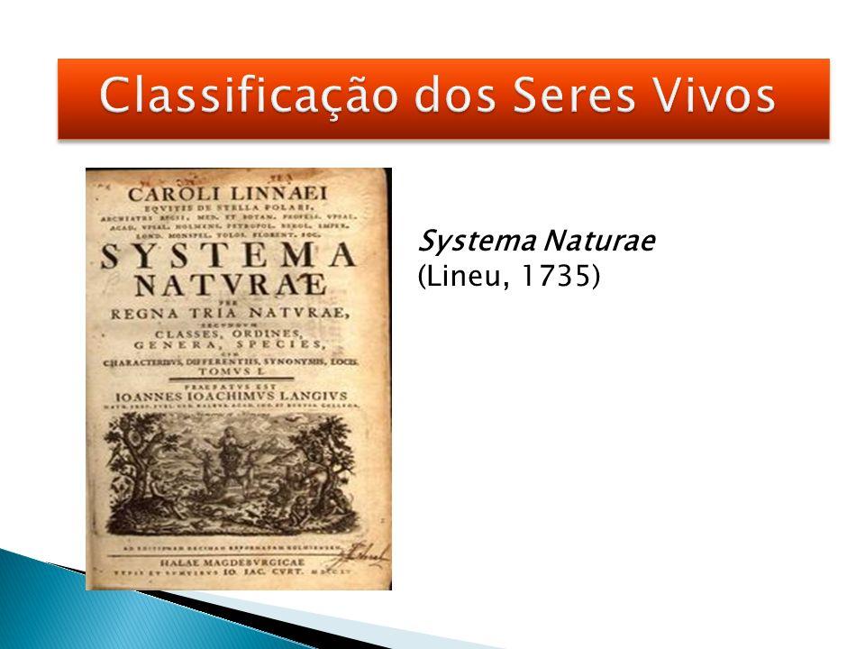 Classificação natural: critérios biológicos