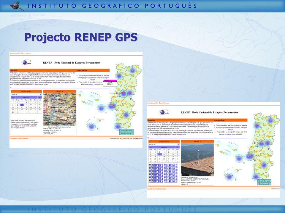 Projecto RENEP GPS