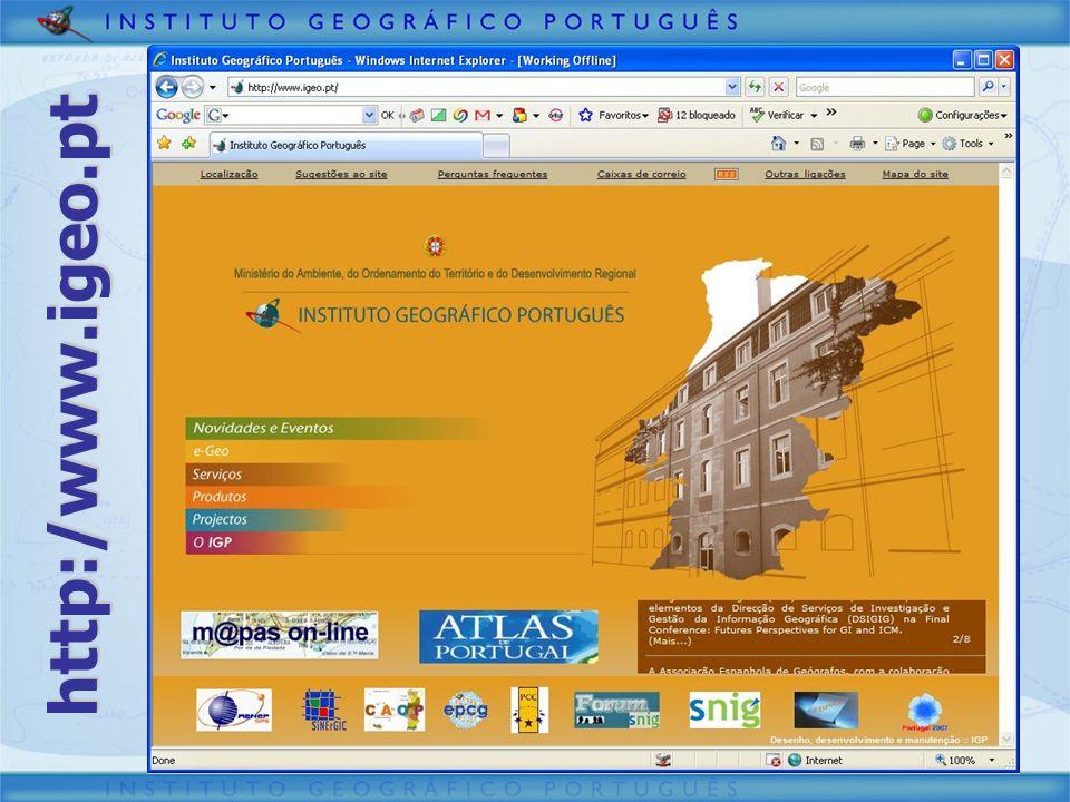 Virtual Earth PT na Administração Pública VIRTUAL EARTH
