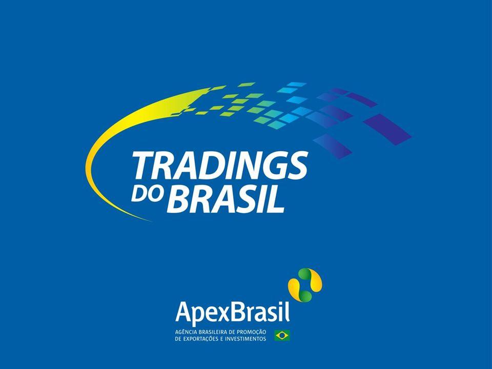 Antecedentes Projeto Tradings A Apex-Brasil desenvolve, em conjunto com entidades setoriais, diversos projetos de promoção comercial Com esses esforços, identificamos um percentual significativo de MPEs classificadas como não-exportadoras Encontramos na exportação indireta/intermediada o meio de inclusão das MPEs no esforço exportador.