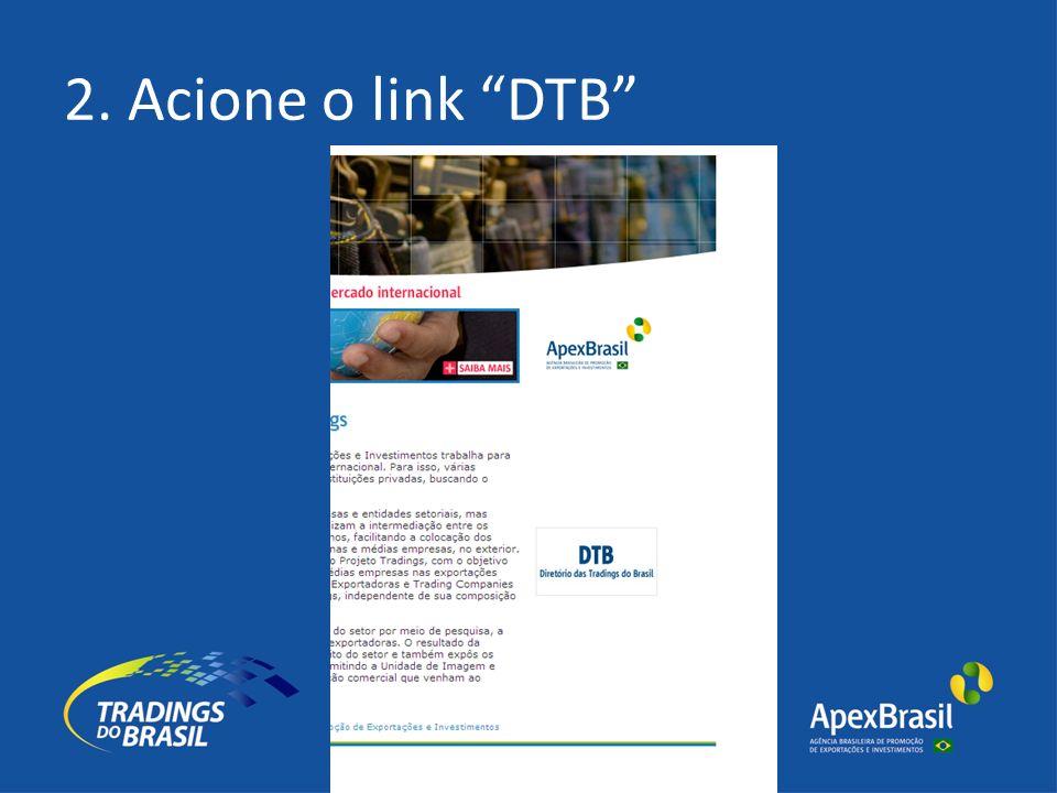 2. Acione o link DTB