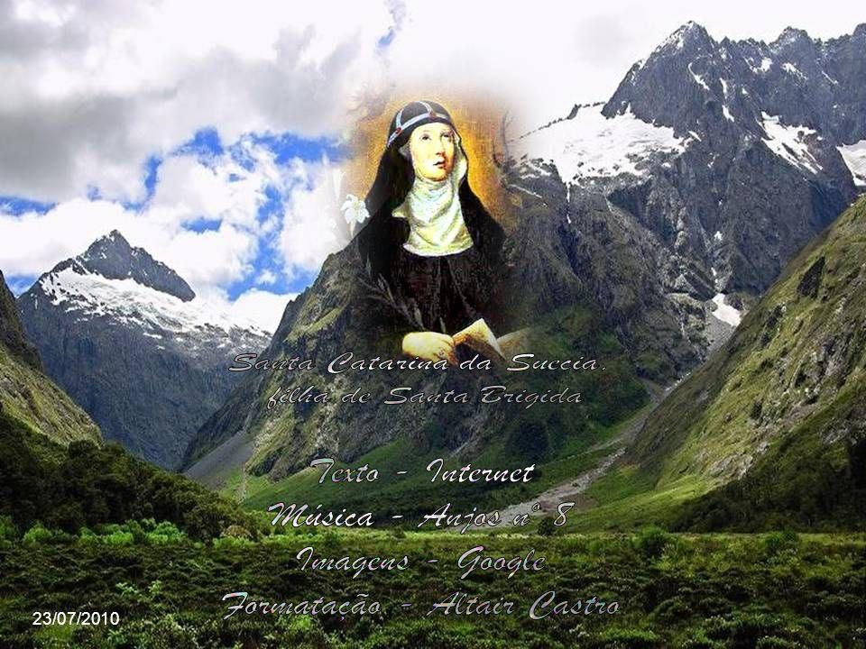 Faleceu em 23 de julho em Roma e foi enterrada em Vadstena, Suécia no convento que ela fundou. É a padroeira da Suécia e das viúvas. Sua festa é celeb