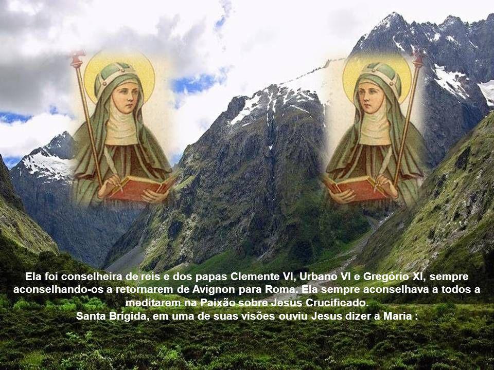 Cisterciense ela era visionária, mística e escritora. Ela descreveu suas revelações recebidas em suas visões e essas visões se tornaram muito populare
