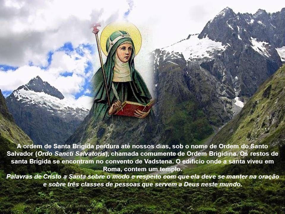 Uma das mais incríveis visões de Santa Brigida foi aquela que Jesus mostrou a ela as 5.480 feridas da coroa dos espinhos, do chicote, dos pregos, das
