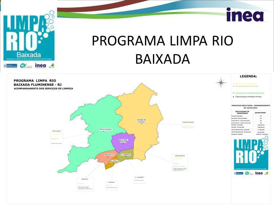 Baixada PROGRAMA LIMPA RIO BAIXADA