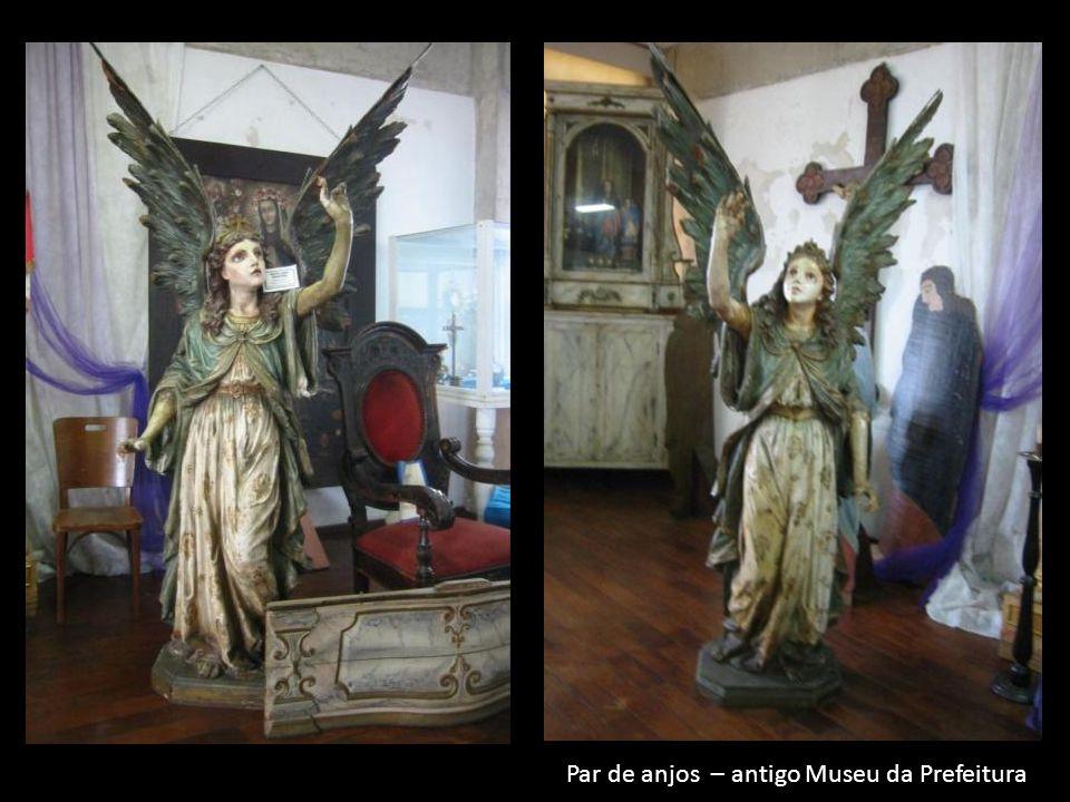 Par de anjos – antigo Museu da Prefeitura